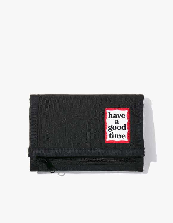 have a good time Cordura® Frame Wallet - Black | HEIGHTS. | 하이츠 온라인 스토어