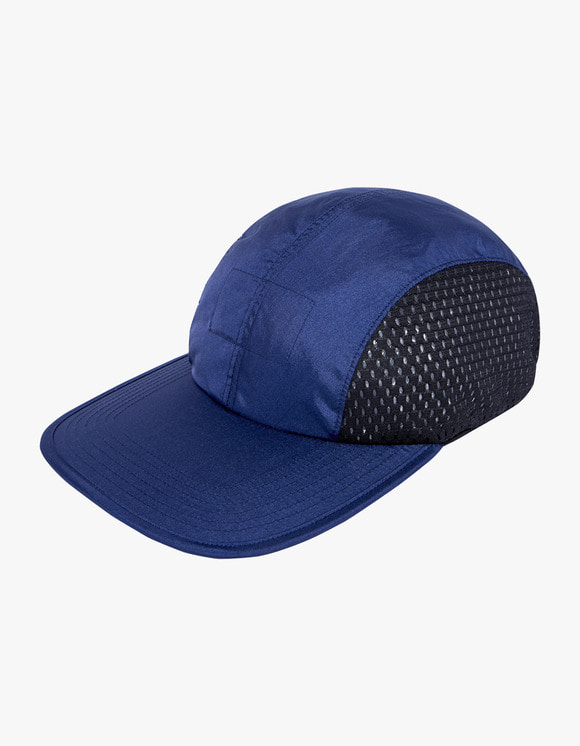 Heritage Floss Nylon Aurora Washer Cap II - Navy | HEIGHTS. | 하이츠 온라인 스토어