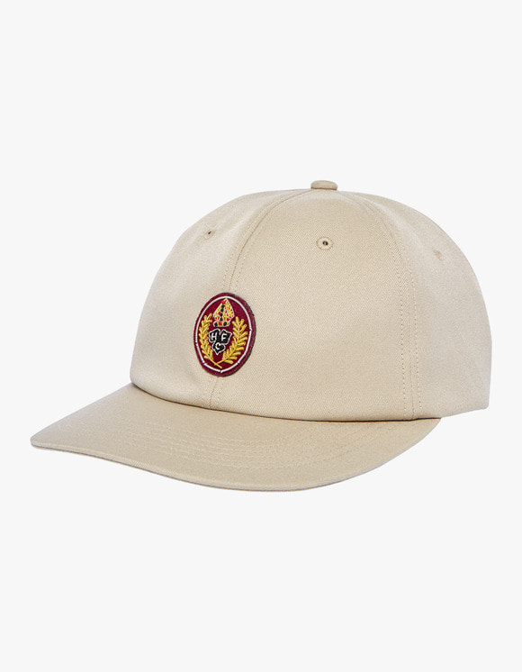Heritage Floss HFC Crest 6 Panels Cap - Beige | HEIGHTS. | 하이츠 온라인 스토어