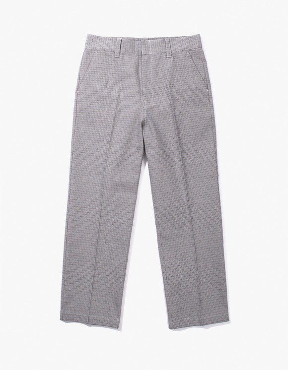 IZOLA NYC Check Buckel Trousers - Blue | HEIGHTS. | 하이츠 온라인 스토어