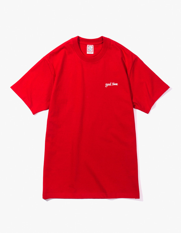 have a good time Ship S/S Tee - Red | HEIGHTS. Online Store