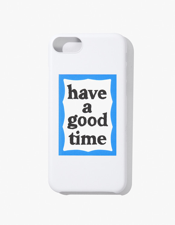 have a good time Blue Frame iphone Case 6/7/8 - White | HEIGHTS. | 하이츠 온라인 스토어
