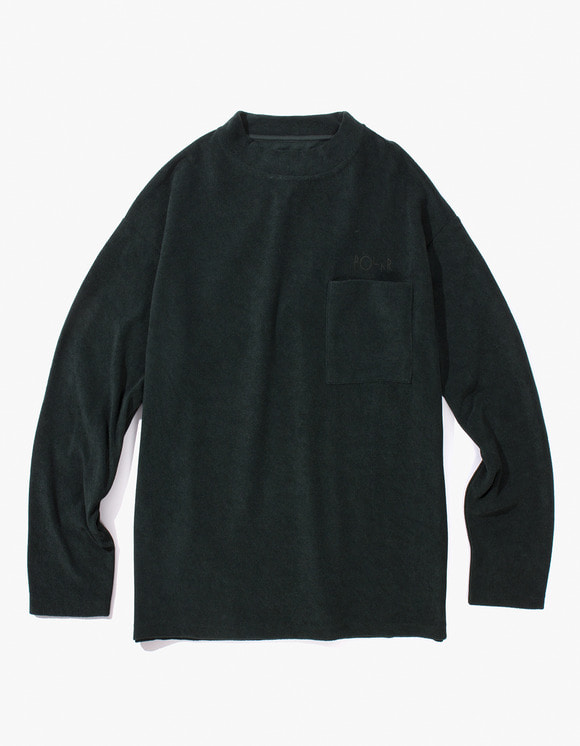 Polar Skate Co. Terry Pullover - Dark Green | HEIGHTS. Online Store
