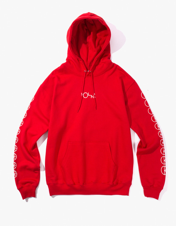 Polar Skate Co. Racing Hoodie - Red | HEIGHTS. Online Store