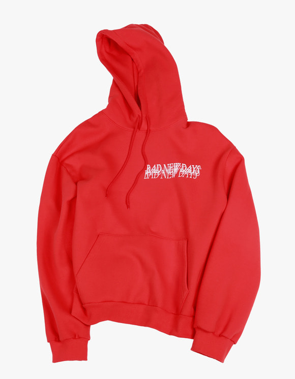 ENZO BLUES BND Hoody - Cherry Red | HEIGHTS. | 하이츠 온라인 스토어
