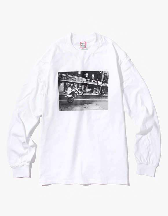 have a good time Blake L/S Tee - White | HEIGHTS. | 하이츠 온라인 스토어
