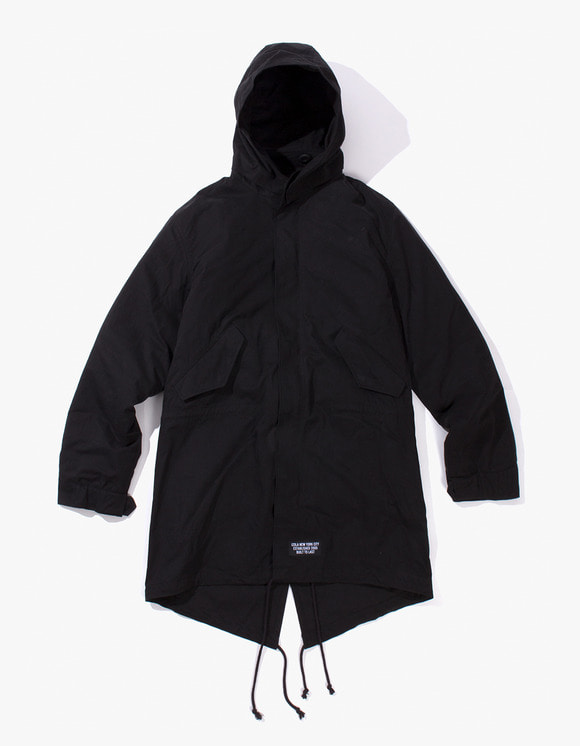 IZOLA NYC P.A.P M-51 Fishtail Parka - Black | HEIGHTS. Online Store