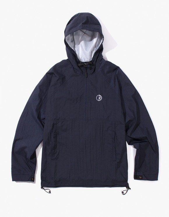 Polar Skate Co. Ripstop Anorak Jacket - Navy | HEIGHTS. Online Store