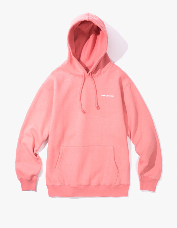 have a good time Side Logo Pullover Hoodie - Indie Pink | HEIGHTS. | 하이츠 온라인 스토어