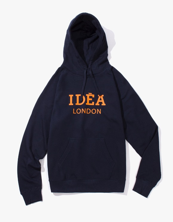 IDEA IDEA London Hoodie - Navy | HEIGHTS. | 하이츠 온라인 스토어