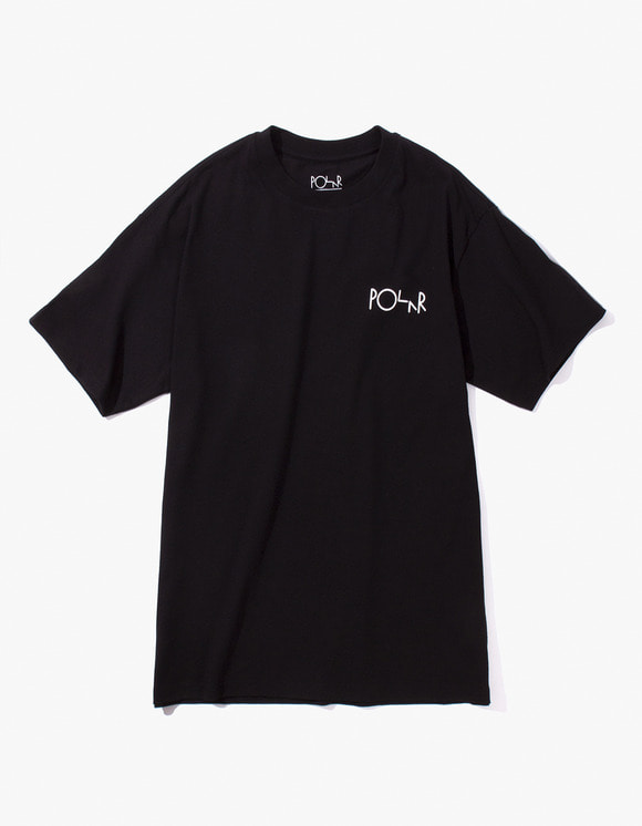 Polar Skate Co. Stroke Logo Tee - Black | HEIGHTS. Online Store