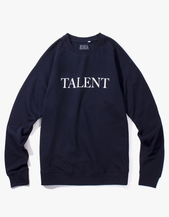 IDEA Talent Crewneck - Navy | HEIGHTS. | 하이츠 온라인 스토어