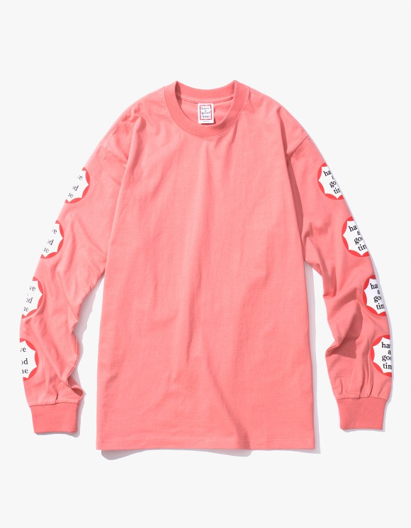 have a good time Clown L/S Tee - Indie Pink | HEIGHTS. | 하이츠 온라인 스토어