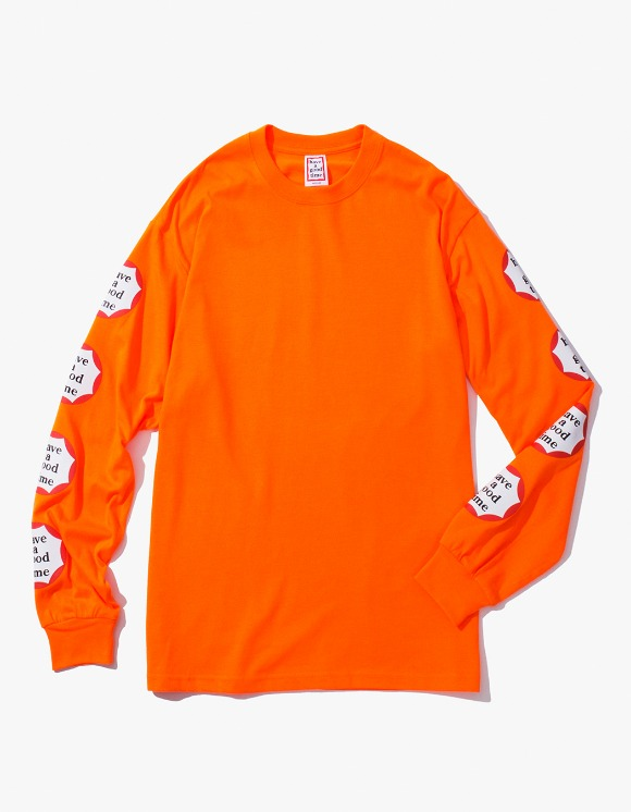 have a good time Clown L/S Tee - Neon Orange | HEIGHTS. | 하이츠 온라인 스토어