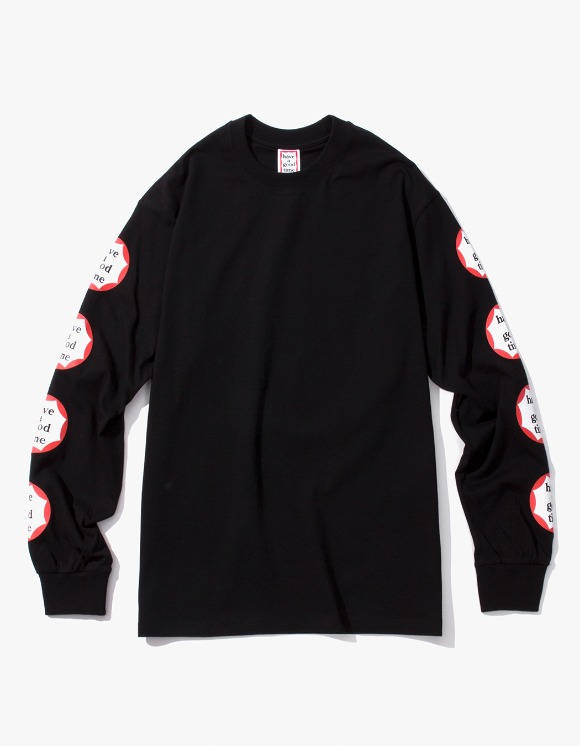 have a good time Clown L/S Tee - Black | HEIGHTS. | 하이츠 온라인 스토어