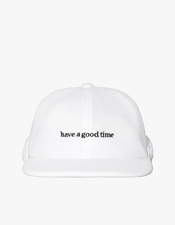 have a good time Fleece 6 Panel Cap - White | HEIGHTS. | 하이츠 온라인 스토어