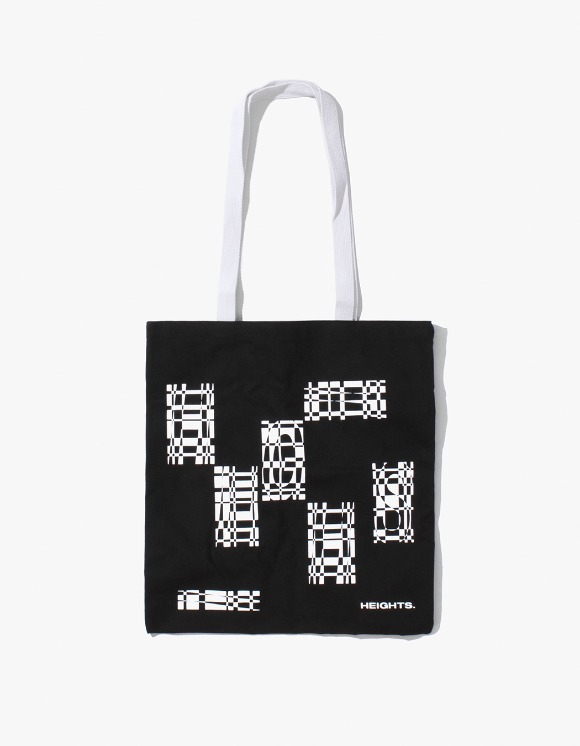 HEIGHTS. Heights. Tote Bag - Black/White | HEIGHTS. | 하이츠 온라인 스토어