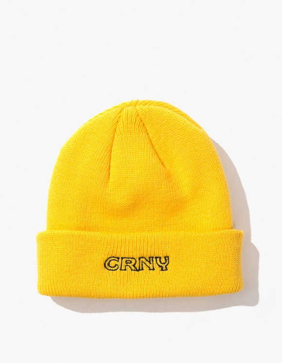 CORNY / BOOTLEG Stoops Beanie - Yellow | HEIGHTS. | 하이츠 온라인 스토어