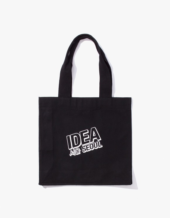 IDEA IDEA Seoul Night Market Tote Bag - Black | HEIGHTS. | 하이츠 온라인 스토어