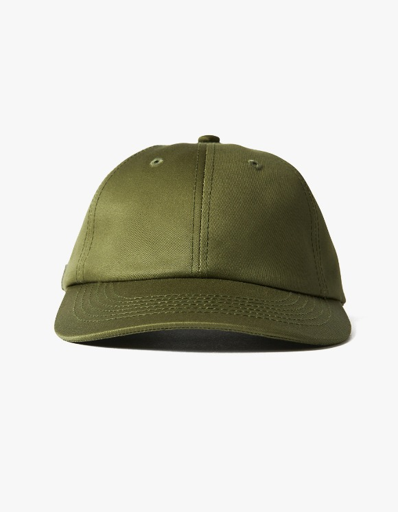 AECA WHITE Yorke 6 Panel Cap - Olive | HEIGHTS. Online Store