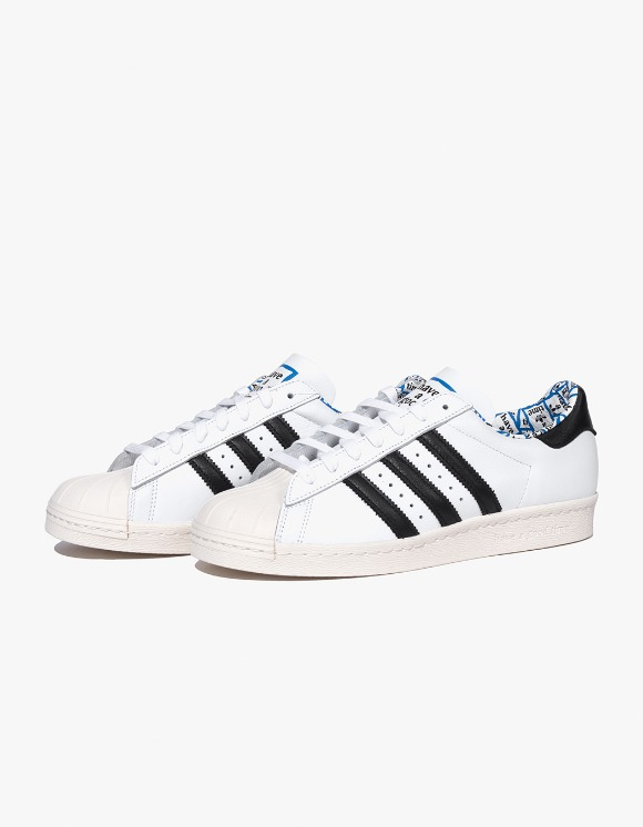 have a good time HAGT x ADIDAS Superstar 80's -  White | HEIGHTS. Online Store