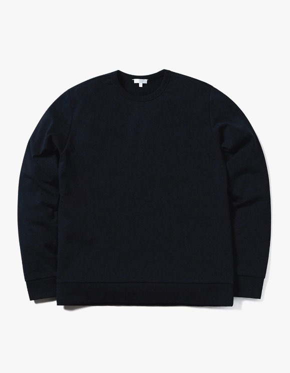 AECA WHITE Jarret Sweatshirt - Deep Navy | HEIGHTS. | 하이츠 온라인 스토어