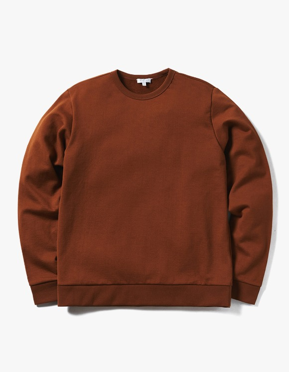 AECA WHITE Jarret Sweatshirt - Toffee | HEIGHTS. | 하이츠 온라인 스토어