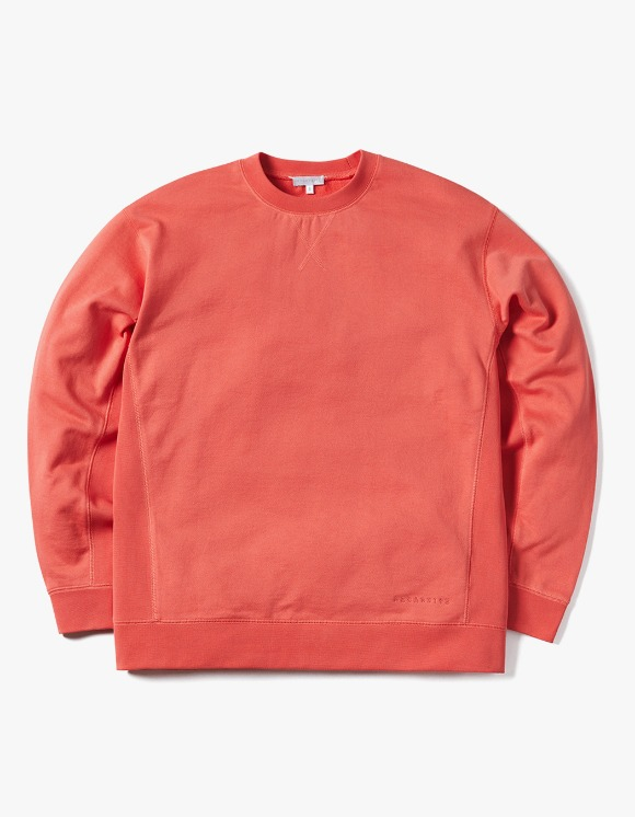 AECA WHITE Miles Sweatshirt - Hot Coral | HEIGHTS. | 하이츠 온라인 스토어