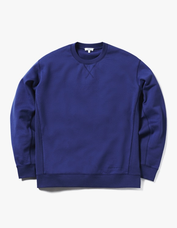 AECA WHITE Miles Sweatshirt - Cobalt | HEIGHTS. | 하이츠 온라인 스토어