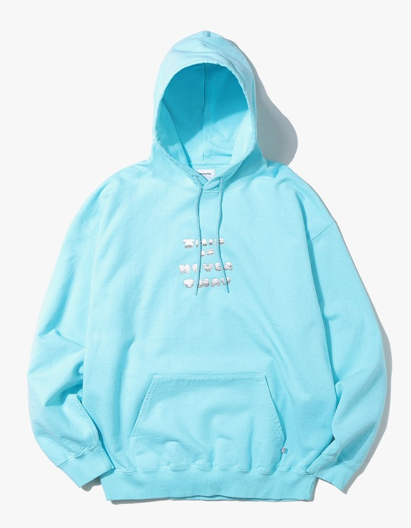 thisisneverthat Skateboarding Hooded Sweatshirt - Mint | HEIGHTS. Online Store