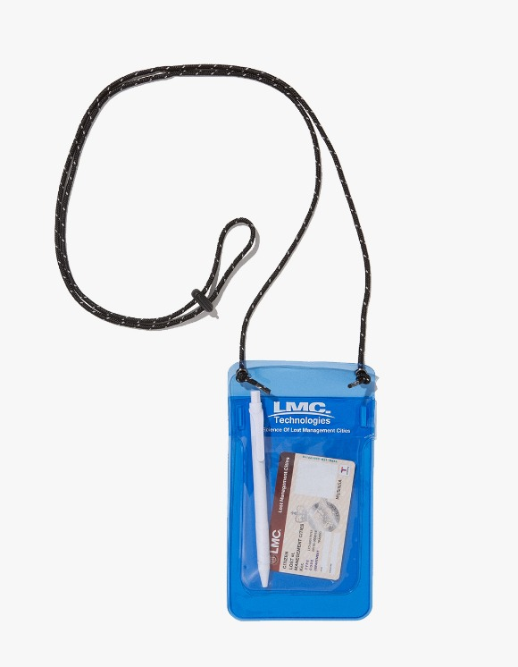 LMC LMC PVC POCKET PROTECTOR POUCH blue | HEIGHTS. Online Store
