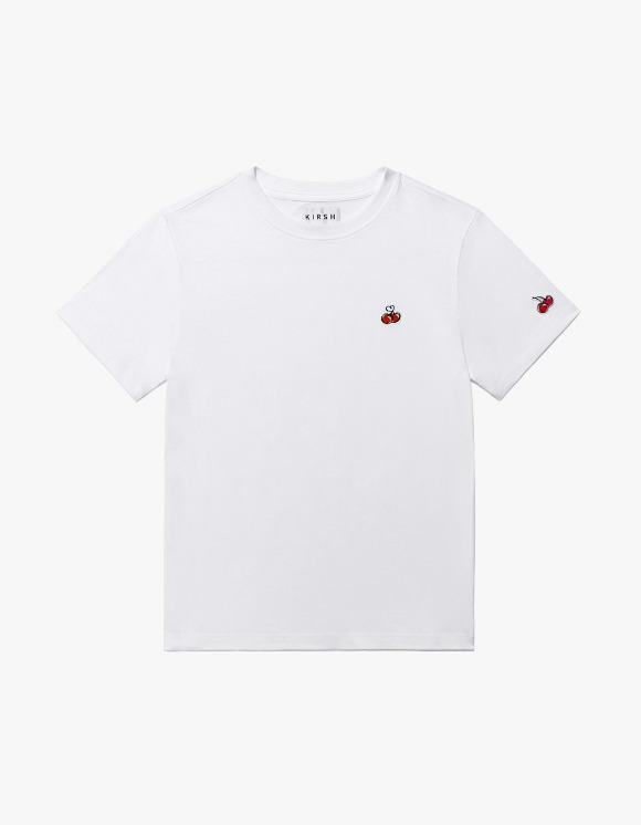 KIRSH Heart Cherry T-shirts IS - White | HEIGHTS. Online Store