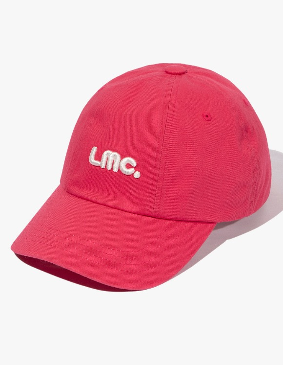 LMC LMC EMBO LOGO ROTATE 6 PANEL CAP coral pink | HEIGHTS. Online Store
