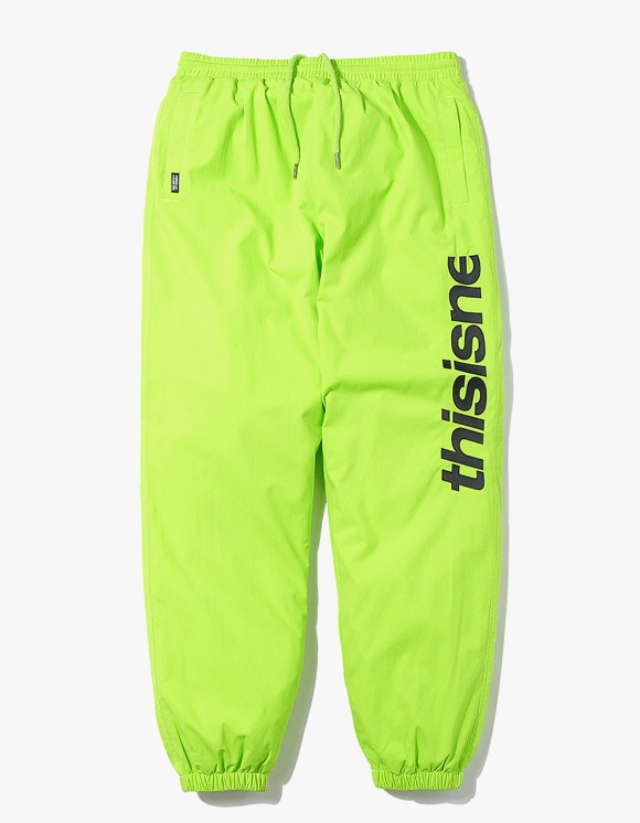 thisisneverthat HSP Warm Up Pant - Lime Green | HEIGHTS. Online Store