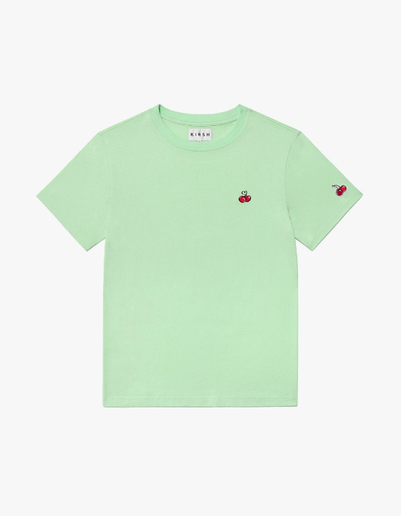 KIRSH Heart Cherry T-shirts IS - Green | HEIGHTS. | 하이츠 온라인 스토어