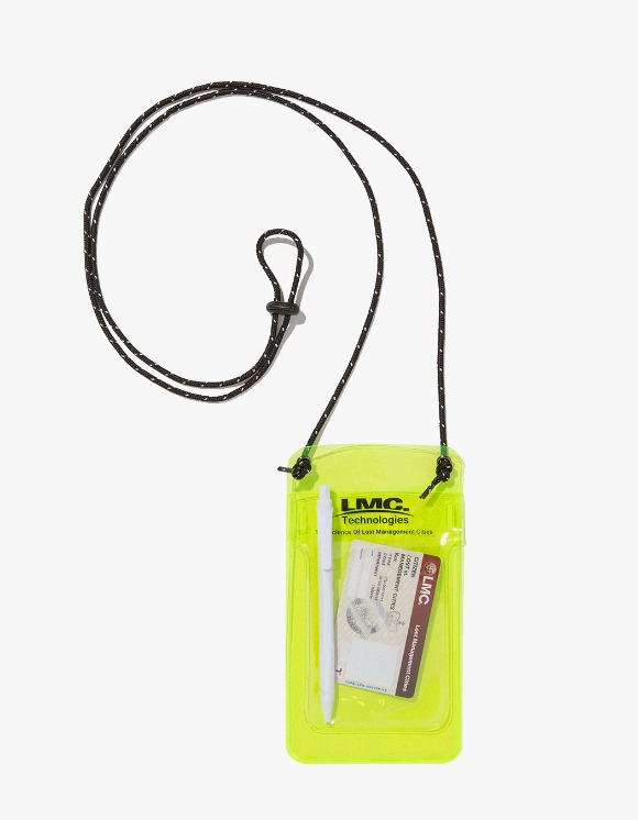 LMC LMC PVC POCKET PROTECTOR POUCH lime | HEIGHTS. | 하이츠 온라인 스토어