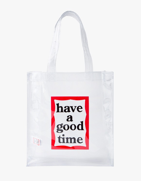 have a good time Clear Frame Tote | HEIGHTS. | 하이츠 온라인 스토어