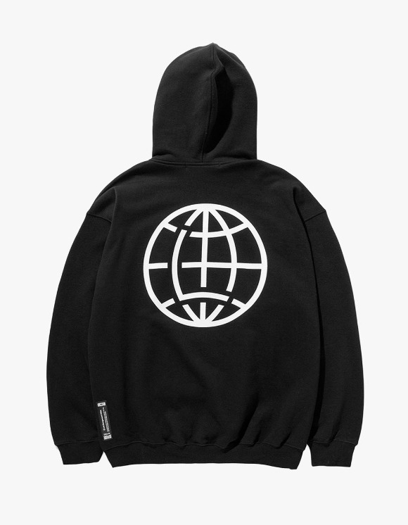 LMC LMC FN GLOBE OVERSIZED HOODIE black | HEIGHTS. | 하이츠 온라인 스토어