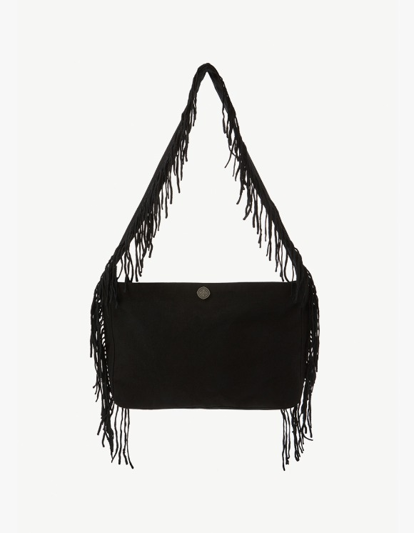 s/e/o Cotton Fringe Bag - Black | HEIGHTS. | 하이츠 온라인 스토어