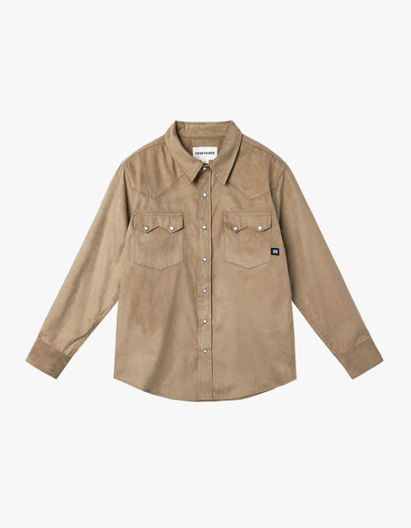 yeseyesee Y.E.S Suade Shirts - Beige | HEIGHTS. | 하이츠 온라인 스토어
