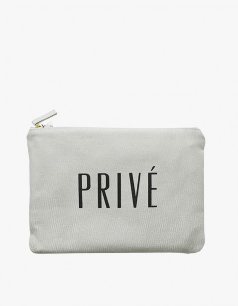 IZOLA NYC Prive Zipper Pouch | HEIGHTS. | 하이츠 온라인 스토어