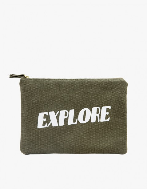 IZOLA NYC Explore Zipper Pouch | HEIGHTS. | 하이츠 온라인 스토어