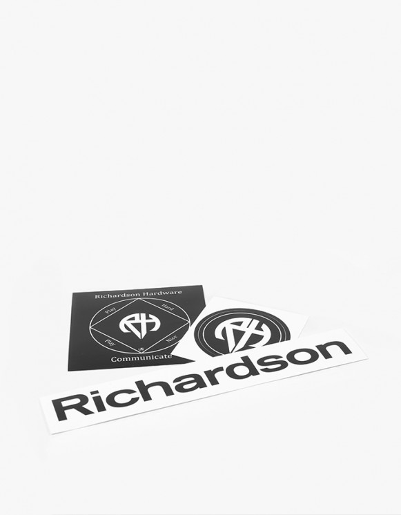 "Richardson RH ""Richardson Hardware"" Sticker Pack 