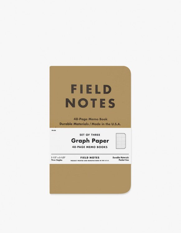 Field Notes Original - Graph Paper | HEIGHTS. | 하이츠 온라인 스토어