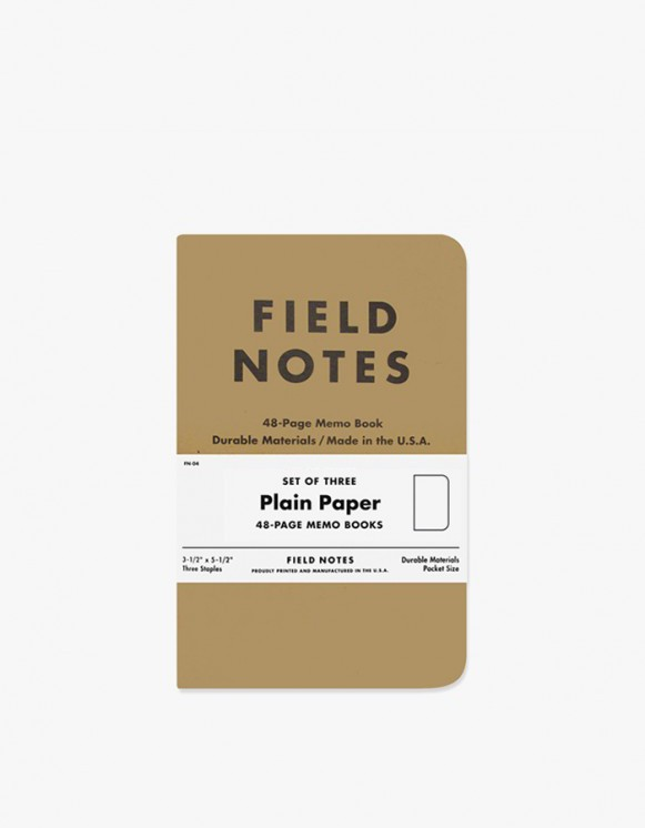 Field Notes Original - Plain Paper | HEIGHTS. | 하이츠 온라인 스토어