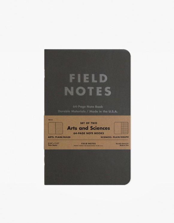 Field Notes Arts and Sciences | HEIGHTS. | 하이츠 온라인 스토어