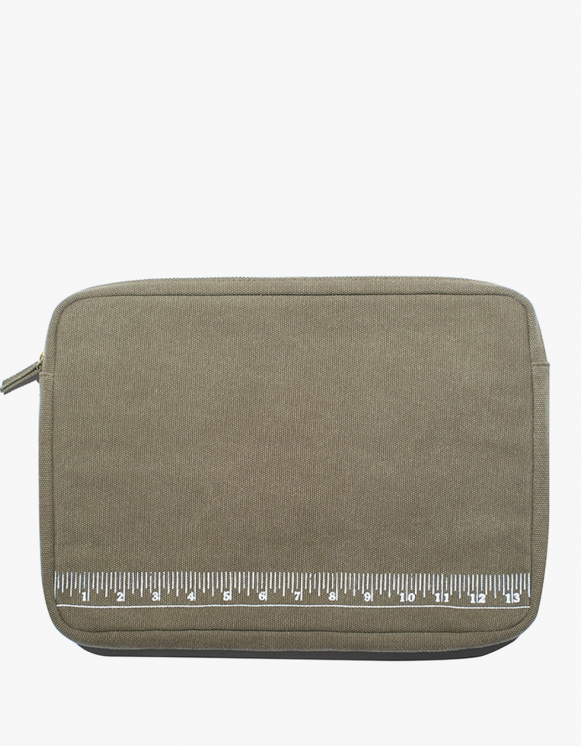 "IZOLA NYC Labtop Pouch 13"" - Ruler 
