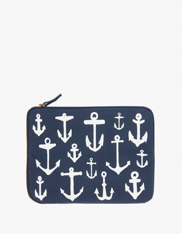 IZOLA NYC Ipad Mini Pouch - Maritime | HEIGHTS. | 하이츠 온라인 스토어
