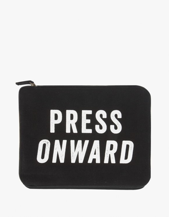 IZOLA NYC Ipad Pouch -  Press Onward | HEIGHTS. | 하이츠 온라인 스토어
