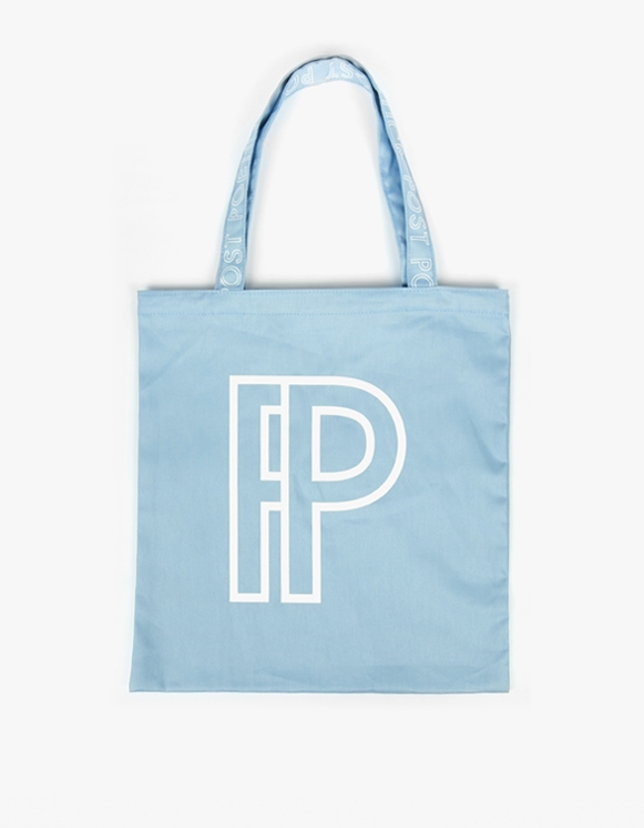 SELECTED Post Poetics Tote Bag - Blue | HEIGHTS. | 하이츠 온라인 스토어